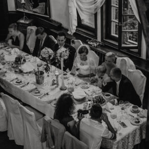 przyjęcie weselne w pałacu w antoninie