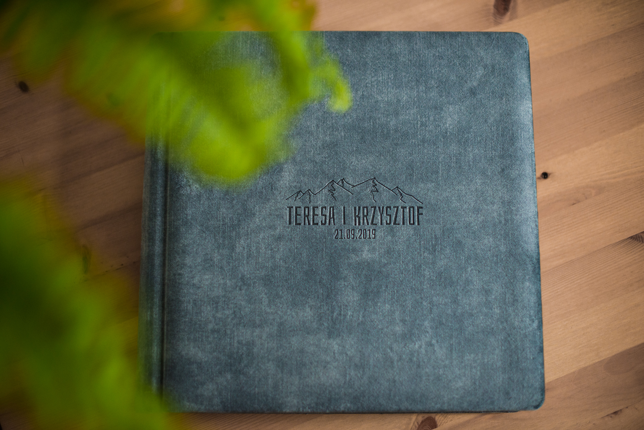 album ślubny
